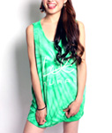 LIL MURAL(リルミューラル)/ LIL TIE DYE TANK TOP -COLOR- -3.COLOR- -Lady's-