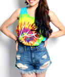 LIL MURAL(リルミューラル)/ LIL TIE DYE TANK TOP -TIE DYE- -2.COLOR- -Lady's-
