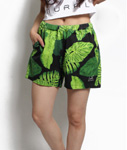 LIL MURAL(リルミューラル)/ BIG LEAF SHORTS -2.COLOR- -Lady's-
