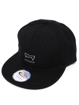 SCREP(スクレップ)/ GRAPPLE SNAPBACK CAP-BLACK-