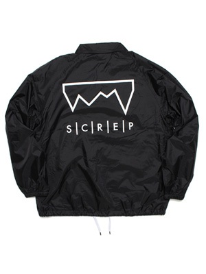 SCREP(スクレップ)/ GRAPPLE COACH'S JACKET -BLACK-