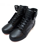 SUPRA(スープラ)/ SKYTOP CLASSICS -BLACK LEATHER×BLACK-