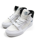 SUPRA(スープラ)/ WOMEN'S VAIDER -WHITE×BLACK- -Lady's-