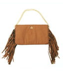 Tome2H(トミトエイチ)/ FRINGE 2WAY BAG -BROWN- -Lady's-