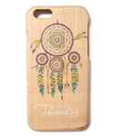 Tome2H(トミトエイチ)/ DREAM CATCHER iPhone CASE -WOOD- -Lady's-