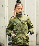 Tome2H(トミトエイチ)/ DREAM CATCHER M-65 JACKET -2.COLOR- -Lady's-