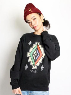 Tome2H(トミトエイチ)/ MEXICAN CREW SWEAT -2.COLOR- -Lady's-