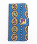 Tome2H(トミトエイチ)/ AFRICAN i-Phone CASE -BLUE- -Lady's-