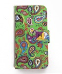 Tome2H(トミトエイチ)/ PAISLEY i-Phone CASE -GREEN- -Lady's-