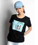 Tome2H(トミトエイチ)/ COLLAGE T-SHIRT -2.COLOR- -Lady's-