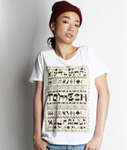Tome2H(トミトエイチ)/ HEBREW T-SHIRT -3.COLOR- -Unisex-