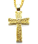 ADVANCE(アドバンス)/ CROSS TOP GOLD CHAIN NECKLACE