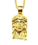 ADVANCE(アドバンス)/ JESUS HEAD TOP GOLD CHAIN NECKLACE
