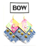 BOW(ボウ)/ DENIM PIERCE -PASTEL- -Lady's-