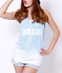 High Life(ハイライフ)/ HIGHLIFE LOGO TIE-DYE TANK TOP×JAVARA -3.COLOR- -Lady`s-