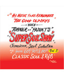 SUPER SOUL SHOW vol.3 -FADDA-T's a.k.a TURNER from KING RYUKYU SOUND-