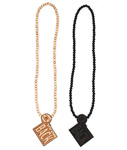 WOODLUM(ウッドラム)/ MR.THROWBACK NECKLACE -2.COLOR-