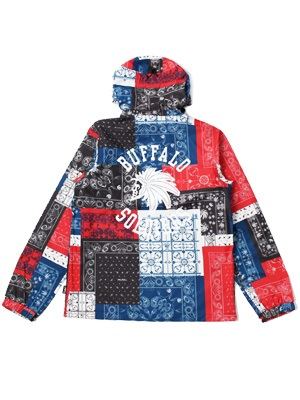 MURAL(ミューラル)/ PAISLEY PATCHWORK 3 LAYER JACKET -3.COLOR-