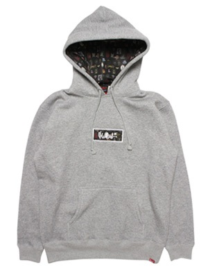 MURAL(ミューラル)/ BLUR BOX HOODY -3.COLOR-