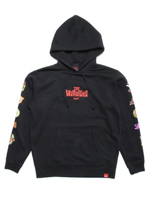 MURAL(ミューラル)/ × MJR THE WARRIORS HOODY -BLACK-