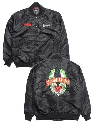 MURAL(ミューラル)/ × MJR THE WARRIORS JACKET -BLACK-