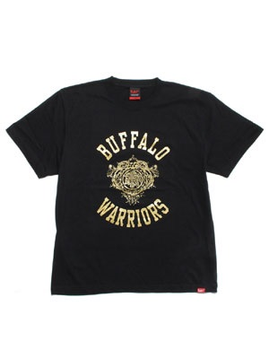 MURAL(ミューラル)/ × YARD BEAT BUFFALO WARRIOR T-SHIRT -BLACK-