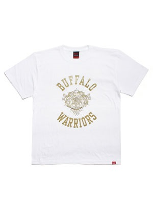 MURAL(ミューラル)/ × YARD BEAT BUFFALO WARRIOR T-SHIRT -WHITE-