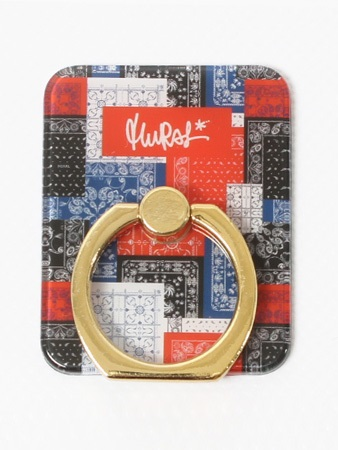 MURAL(ミューラル)/ PAISLEY PATCHWORK SMART PHONE RING -3.COLOR-