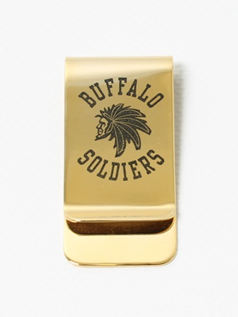 MURAL(ミューラル)/ B.S. MONEY CLIP -GOLD-