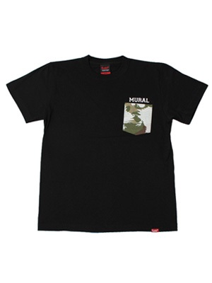 MURAL(ミューラル)/ BLEACH CAMO POCKET T-SHIRT -4.COLOR-