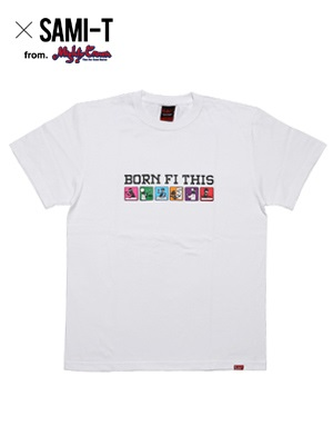 MURAL(ミューラル)/ × SAMI-T BORN FI THIS T-SHIRT -2.COLOR-
