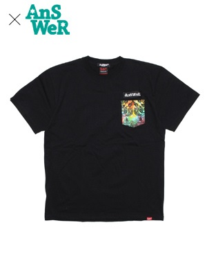 MURAL(ミューラル)/ × AnSWeR TIE DYE POCKET T-SHIRT -2.COLOR-