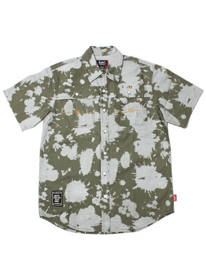 MURAL(ミューラル)/ BLEACH CAMO S/S SHIRT -2.COLOR-