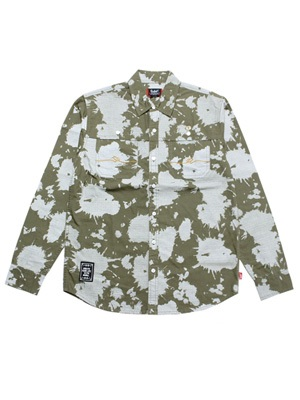 MURAL(ミューラル)/ BLEACH CAMO L/S SHIRT -2.COLOR-