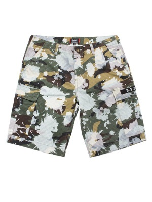 MURAL(ミューラル)/ BLEACH CAMO CARGO SHORTS -2.COLOR-