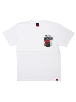 MURAL(ミューラル)/ PAISLEY PATCHWORK POCKET T-SHIRT -3.COLOR-