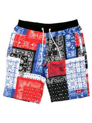 MURAL(ミューラル)/ PAISLEY PATCHWORK SHORTS -3.COLOR-