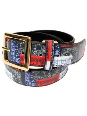 MURAL(ミューラル)/ PAISLEY PATCHWORK BELT -3.COLOR-