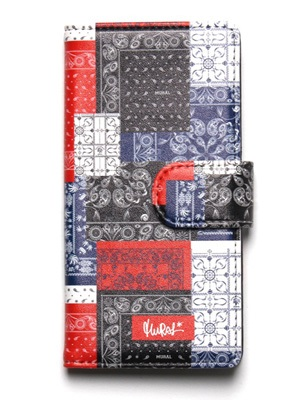 MURAL(ミューラル)/ PAISLEY PATCHWORK DIALY iPhone CASE -3.COLOR-