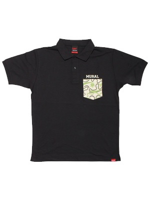 MURAL(ミューラル)/ TRADITION B.S. POCKET POLO SHIRT -3.COLOR-