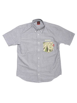 MURAL(ミューラル)/ TRADITION B.S. POCKET OX SHIRT -3.COLOR-