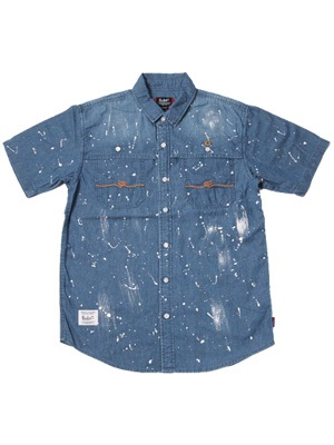 MURAL(ミューラル)/ PAINT DENIM S/S SHIRT -2.COLOR-