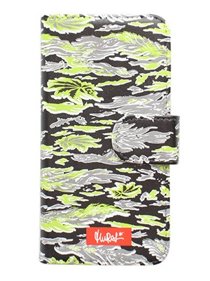 MURAL(ミューラル)/ GRAPHIC ARTS i-Phone CASE -COLOR.B (TIGER CAMO)-