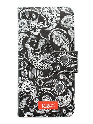 MURAL(ミューラル)/ GRAPHIC ARTS i-Phone CASE -COLOR.C (PAISLEY)-