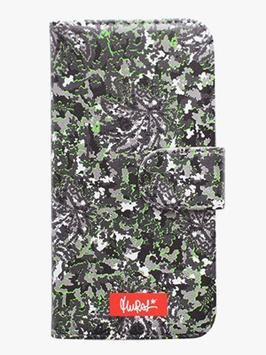 MURAL(ミューラル)/ GRAPHIC ARTS i-Phone CASE -COLOR.D (ALLEY CAMO)-