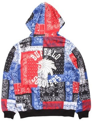 LIL MURAL(リルミューラル)/ PAISLEY PATCHWORK ZIP HOODY -3.COLOR- -Lady's-