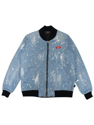 LIL MURAL(リルミューラル)/ PAINT DENIM JACKET -2.COLOR- -Lady's-