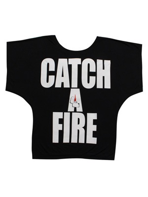 LIL MURAL(リルミューラル)/ CATCH A FIRE DOLMAN T-SHIRT -3.COLOR- -Lady's-