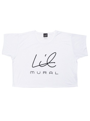LIL MURAL(リルミューラル)/ LIL BOXY T-SHIRT -BASIC- -3.COLOR- -Lady's-