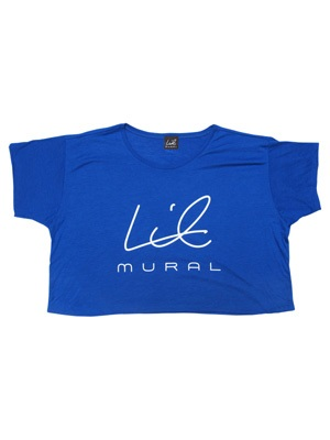 LIL MURAL(リルミューラル)/ LIL BOXY T-SHIRT -COLOR- -4.COLOR- -Lady's-